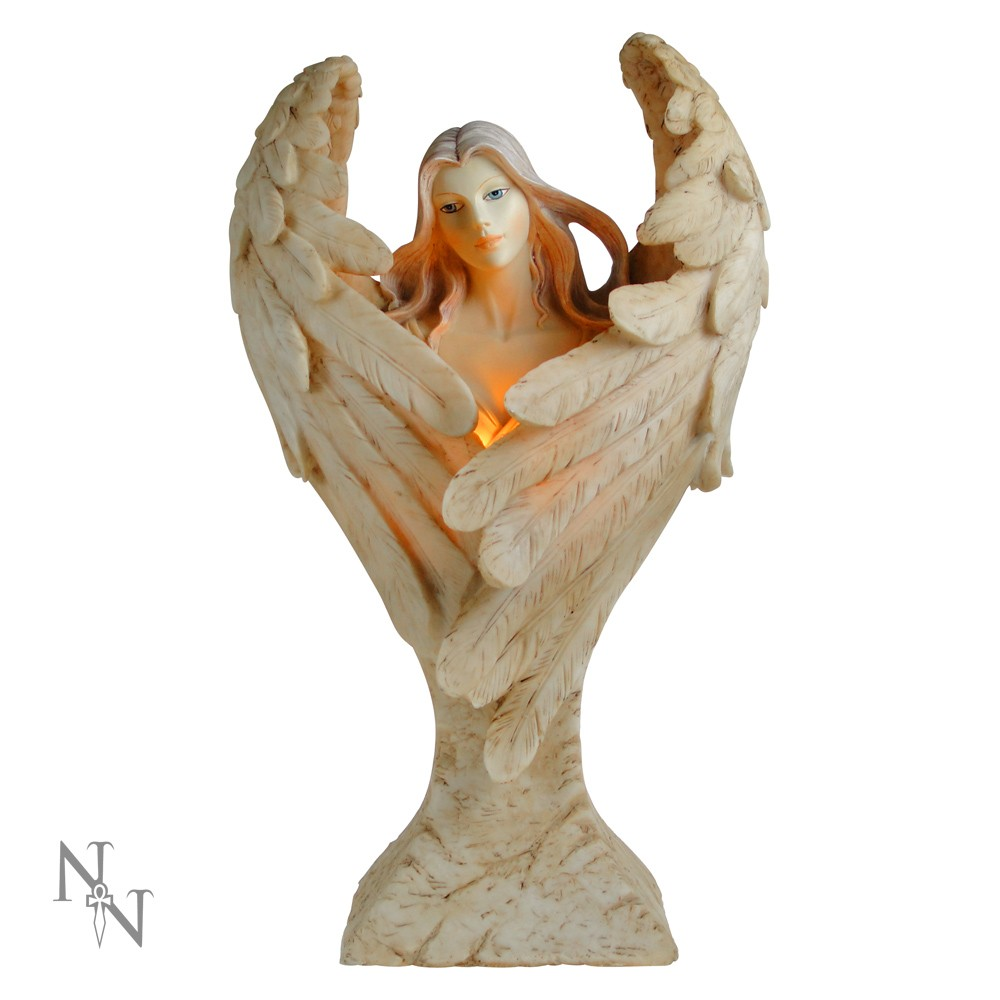 Wings Of Peace Angel Lamp